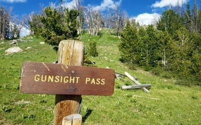 Green River Pass Then Gunsight Pass